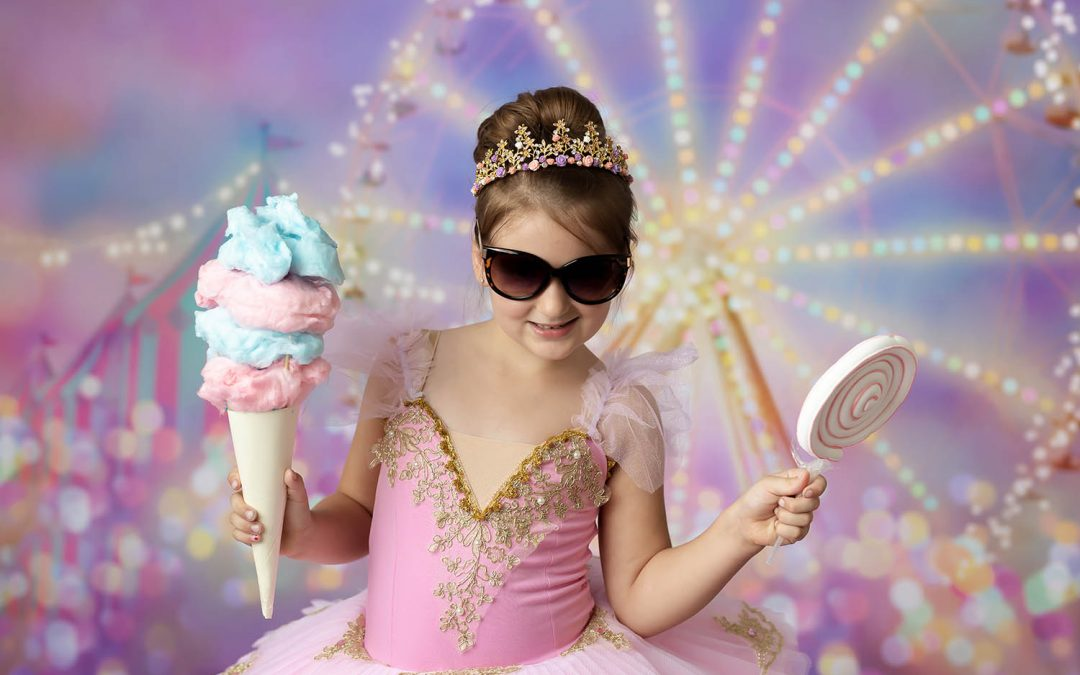 Kitchener Waterloo Carnival Birthday and Sibling Photoshoot